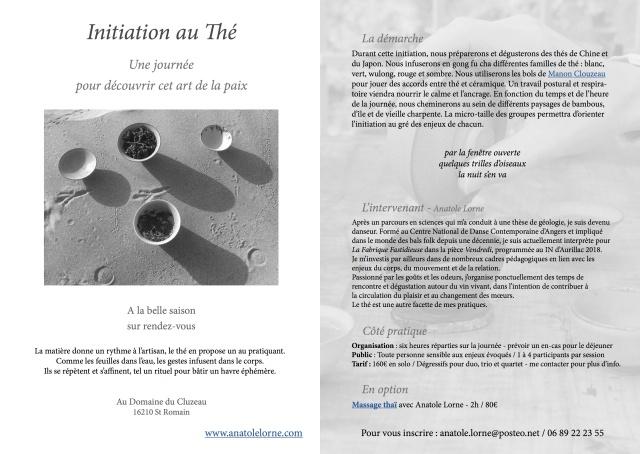 Initiation au Thé